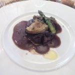 Filete de ternera Rossini con trufas y foie