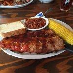 Fall Off The Bone BBQ Ribs Dinner