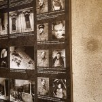 The pictures of the paratroopers-heroes who hid themselves in the crypt
