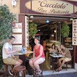Lunch at Cuccilio :-)