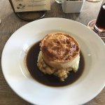 Steak and Ale Pie at The Raven of Bath - DELICIOUS