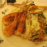 Prawns with Risotto