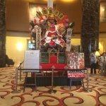 Lobby display for Daimyo Festival