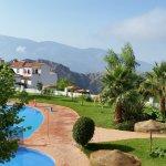 Un hotel en la sierra de la Alpujarra
