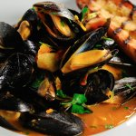 Mussels special.
