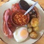 Breakfast at Caffi Gwynant