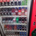 So hot and humid in the halls, the vending machines were dripping inside and out.