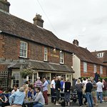 Pub on re-opening day!