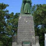 Photo of Ryoma Sakamoto Bronze Statue