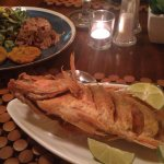 The food was traditional Costa Rican but elevated to a fine dining experience. Red Snapper is a