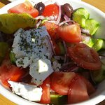 authentic Greek salad, No lettuce