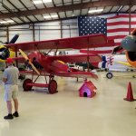 Snoopy and the Red Barron's Fokker Dr.1 Triplane