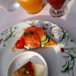 Delicious gourmet breakfast!