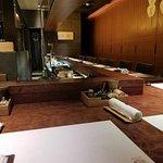 Empty restaurant when we were seated