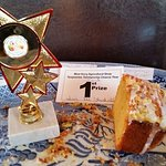 Tig Áine Lemon Drizzle Cake won joint First Price in West Kerry Agricultural Show today. (5 in a