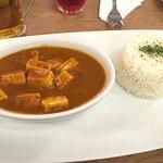Vegan Chicken Tikka Curry. Yum!