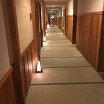 hall leading away from our room