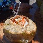Mexican cocunt delicacy