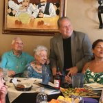 """Family gather aound the (90th) Birthday """"Gal"""""""