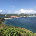 View from Top of Fort Rodney- Pigeon Island