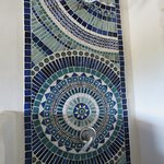 The mosaic in the shower is amazing!