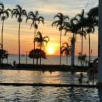 Photo from the infinity pool