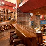 Nice secluded seating, if needed or you can just saddle up at the bar with everyone else.
