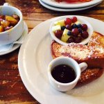 French Toast/Fresh fruit/ home fries