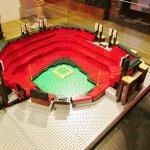 one of the leggo stadiums
