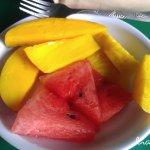 Delicious fresh fruits.