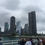 View of skyline from the 1st lady river tour. It was cloudy in the morning but still a great vie