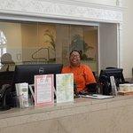 Friendly Reception, Quapaw Bath & Spa, Hot SpringsAR