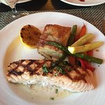Salmon, Grilled Vegtables & Potatoes