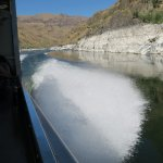 Heading up the Snake River in Hells Canyon