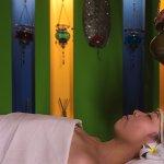 Shirodara massage at the Chandan Spa. Open daily from 10:00AM-10:00PM.