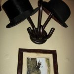 Holmes and Watson's hats