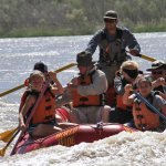 all pictures are in the same rapids. river was running deep this day