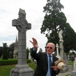 John was a fantastic, candid storyteller and guide at Glasnevin