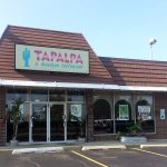 front of, entrance to & outdoor patio at Tapalpa