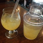 Margarita with take-home shaker