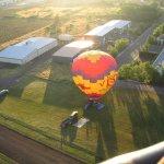 Bidding our balloon mates adieu