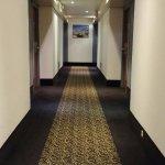 Hallway outside the room