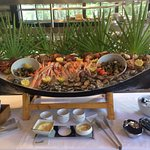 Le buffet des fruits de mer