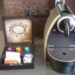 Nespresso Coffee's maker in the room