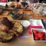 pomme de terre cuisse de canard