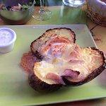 pomme de terre aux trois fromages