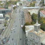View from the 19th Floor of Swissôtel Tallinn