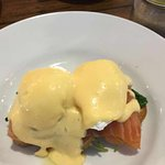 This was the eggs bene with smoked salmon