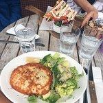 Chicken Schnitzel / Club Sandwich