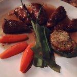 Lammfilet auf Gemüse mit Rösti
